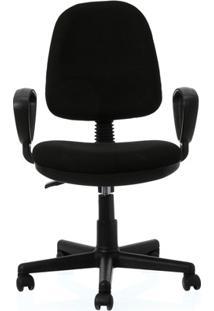 Cadeira Giratória Malaquita 2 60X60Cm Preta
