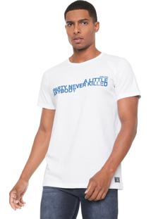 Camiseta Colcci Party Branca