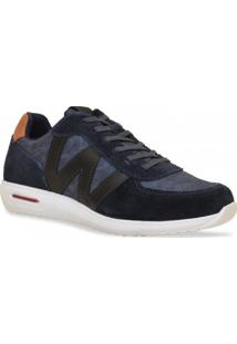 Sapatenis West Coast Sneaker Marinho