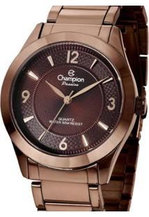 Relógio Champion Chocolate Cn28866R Feminino - Feminino-Marrom