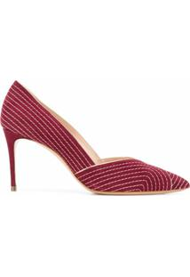 Casadei Sapato Julia Miranda - Vermelho