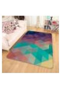 Tapete Sala Wevans Geométrico Colorido Único
