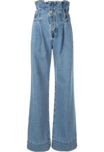 Nobody Denim Calça Jeans Pantalona 'Galileo' - Azul