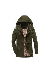 Jaqueta Masculina Plymouth - Verde Militar