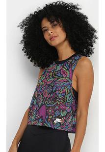 Regata Nike Sportswear Feminina - Feminino-Preto