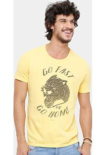 Camiseta Ellus Stone Go Fast Masculina - Masculino