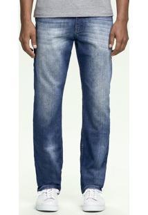 Calça Jeans Masculina Hering Em Modelo Tradicional