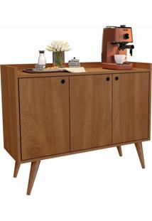 Aparador Buffet Retrã´ 3 Portas Wood - Freijã³ - Rpm Mã³Veis - Incolor - Dafiti