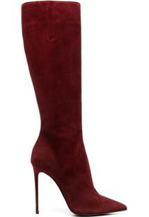 Le Silla Bota Eva De Camurça - Vermelho