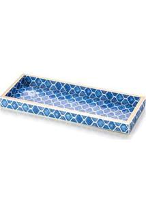 Bandeja Coliseu De Madeira Blue – 4 X 12 X 34 Cm