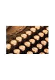Painel Adesivo De Parede - Máquina De Escrever - 498Pn-P