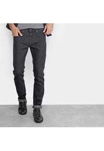 Calça Jeans Skinny Calvin Klein Skinny Black Masculina - Masculino