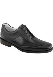Sapato Social Masculino Oxford Sandro Moscoloni Joshua Preto