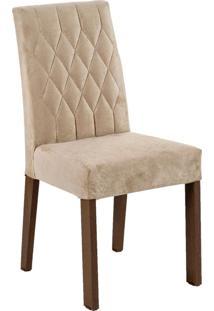 Kit 2 Cadeiras 4254 Madesa - Rustic/Imperial Marrom