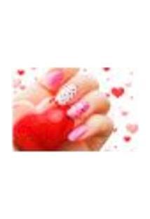 Painel Adesivo De Parede - Esmaltes - Manicure - 754Pnp