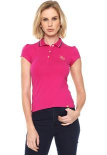 Camisa Pólo Coca Cola Ombro feminina  127c6c7468e83