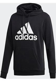 Blusa Moletom Adidas Capuz - Masculino