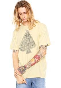 Camiseta Mcd Wireframe Amarela