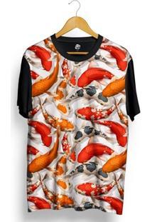 Camiseta Bsc Color Carp Full Print - Masculino