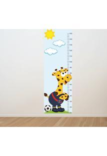 Adesivo Régua De Crescimento Girafa Psg (0,50M X 1,50M)