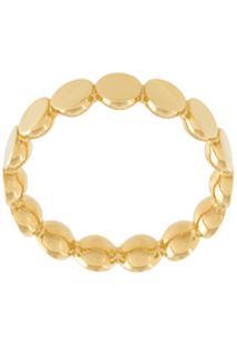 Astley Clarke Anel 'Disc Stilla' Em Banho De Ouro 18K - Amarelo