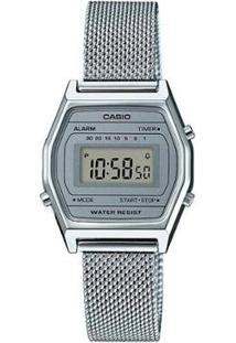 Relógio Casio Vintage Feminino - Feminino-Prata