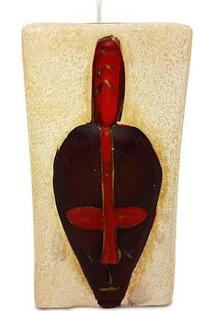 Máscara Africana Porta-Vela