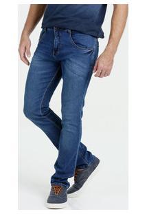 Calça Masculina Jeans Skinny Stretch Biotipo