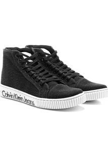 Sapatênis Calvin Klein Alto Lona - Masculino