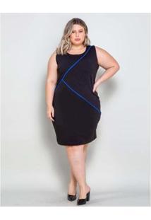 Vestido Plus Size Palank Curto Joinville Feminino - Feminino