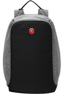 Mochila Swissland Anti Furto Para Notebook Ys28056 Impermeável Com - Unissex