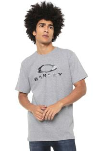 Camiseta Oakley Color Cinza
