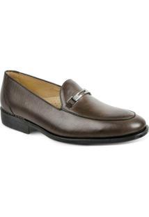 Sapato Social Polo State - Masculino-Caramelo