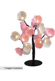 Luminária Árvore Luz De Fada Cerejeira Dakar- Rosa & Bracormilu