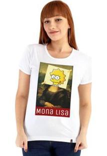 Baby Look Ouroboros Mona Lisa Feminino - Feminino