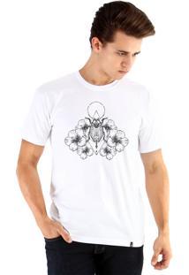 Camiseta Ouroboros Besouro Branco