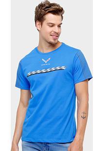 Camiseta Corvette Winner Masculina - Masculino-Marinho