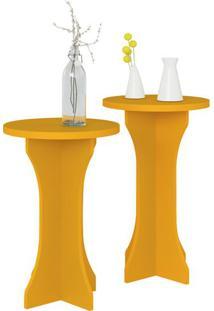 Mesa De Apoio Luck Amarelo