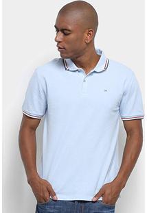 Camisa Polo Calvin Klein Masculino Mc Regular Ponto Espinha Cm9Ow02Pr524 - Masculino