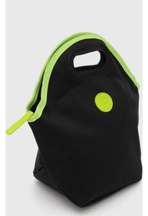 Bolsa Térmica Colcci Fitness Neon Preta/Verde