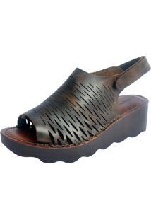 Sandália S2 Shoes Moara Oliva - Kanui
