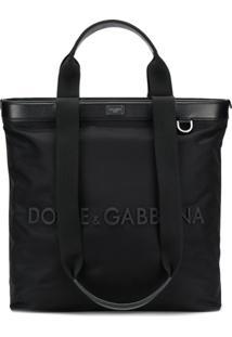 Dolce & Gabbana Bolsa Tote - Preto