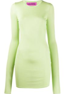 Gauge81 Blusa De Jersey Com Corrente Na Gola - Verde