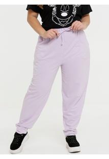 Calça Plus Size Feminina Jogger