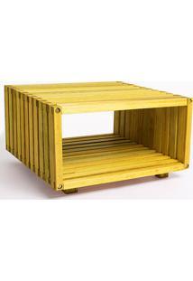 Módulo Dominoes 45 X 22,5 Amarelo Mão E Formão
