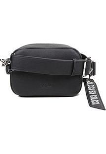 Bolsa Colcci Mini Bag Charm Feminina - Feminino-Preto