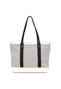 Bolsa Shopping Bag Mormaii Com Laser E Detalhes Neon