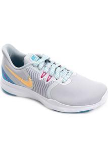 Tênis Nike In-Season Tr 8 Feminino - Feminino-Cinza+Laranja