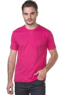 Camiseta Docthos Manga Curta Pink