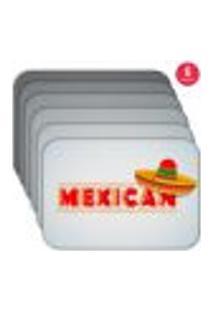 Jogo Americano Wevans Mexican Kit Com 6 Pçs
